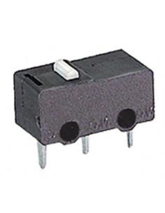 Microdeviatore 1A-125V fine corsa senza leva per circuiti stampati