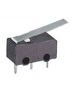 Microdeviatore 1A-125V fine corsa con leva lunga per circuiti stampati