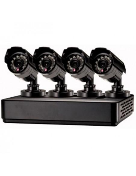 Kit 4 telecamere 700TVL con DVR 4 canali CONCEPTRONIC mod. C4CHCCTVKITM