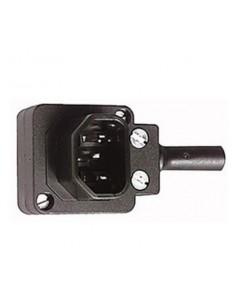 Spina volante tripolare ad angolo 90° standard 10A-250V
