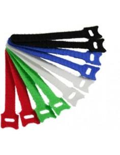 Fascette in velcro 12 X 240 mm diversi colori confezione 10 pz