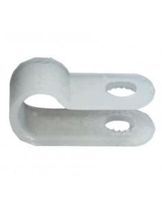 Clips fermacavi diametro 6,6 mm confezione 100 pz