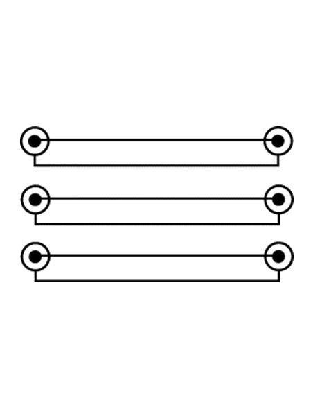 Cavetto audio/video lunghezza 1,5 mt