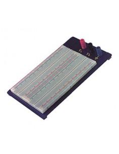 Piastra 1660 contatti per circuiti sperimentali componibile con morsetti Bread-Board