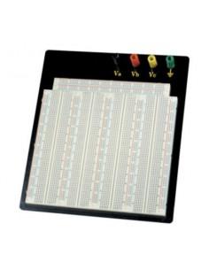 Piastra 3220 contatti per circuiti sperimentali componibile con morsetti Bread-Board